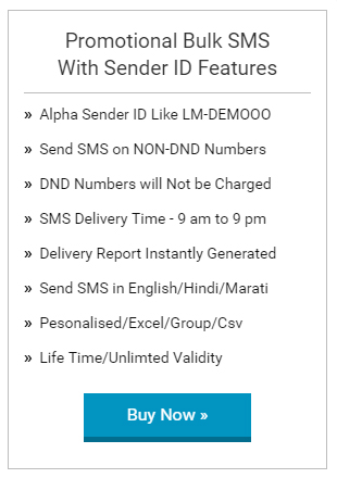 how to send bulk sms with company name in india